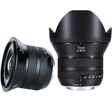ZEISS Touit 2.8/12 for Fujifilm Mirrorless Cameras (X-mount)